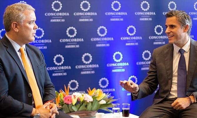COLOMBIA - Candidato presidencial salvadoreño, Carlos Calleja, crea lazos con líderes de la región en cumbre colombiana