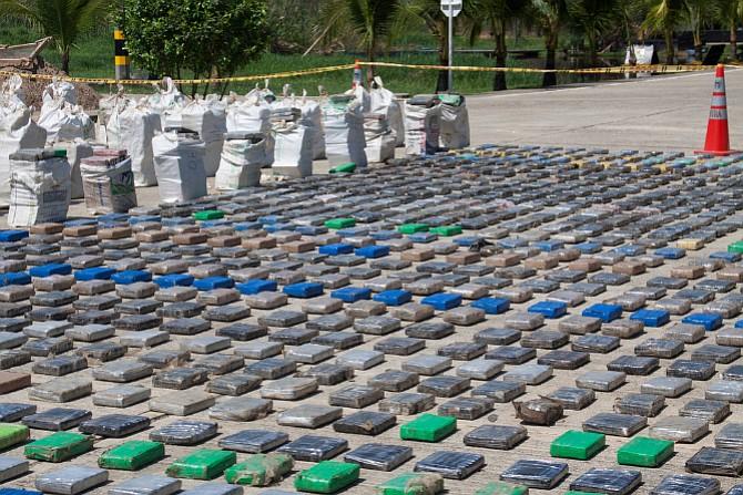 Sentencian a prisión a tres hombres que trasladaron 650 kilos de droga a El Salvador