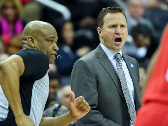 BROOKS. Scott Brooks, entrenador de los Wizards de Washington