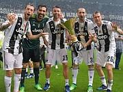 JUVENTUS. El club italiano viene de coronarse en la liga doméstica