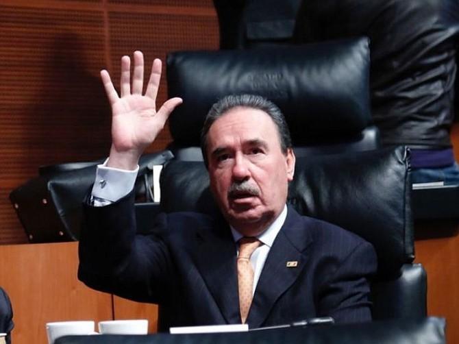 MÉXICO. Emilio Gamboa, coordinador de los senadores priistas