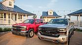 Todas las camionetas Silverado están equipadas con tecnología que permite ajustar los frenos electrónicos de su remolque según el peso de su carga y el terreno por el que maneja.