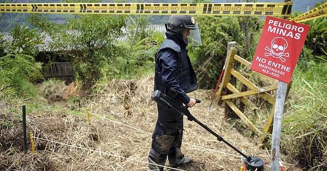 COLOMBIA - Disidencias de las Farc amenazaron a personal de desminado humanitario