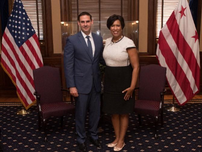 EL SALVADOR. Alcalde de San Salvador visitó Washington para reunirse con funcionarios