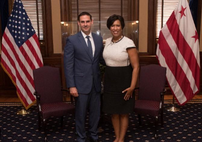 Alcalde de San Salvador visita Washington D.C. para reuniones con funcionarios