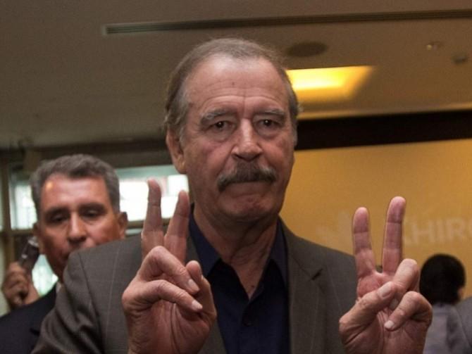 MÉXICO. El expresidente Vicente Fox
