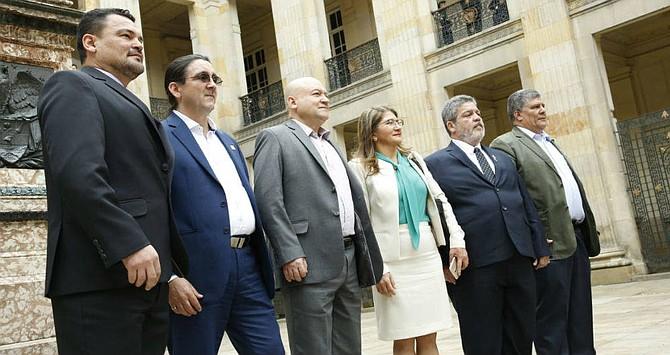 COLOMBIA. El día que la Farc aterrizó como partido en el Congreso