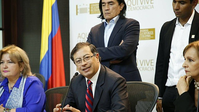 COLOMBIA. Gustavo Petro, ex alcalde de Bogotá y ex candidato presidencial