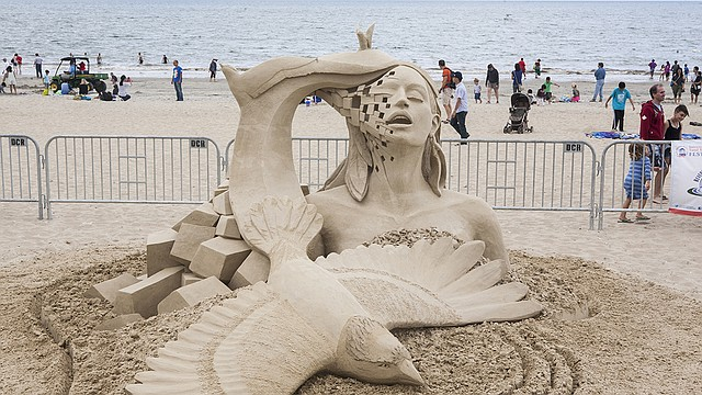 Festival Internacional de Esculturas de Arena de Revere Beach