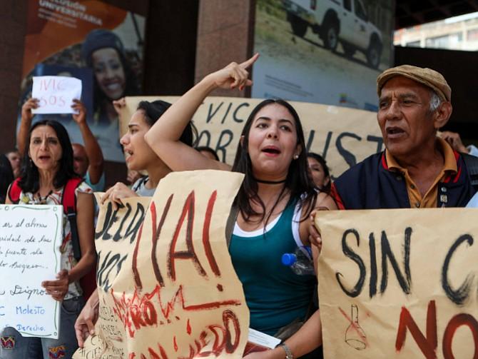 VENEZUELA. Las acciones de calle se han hecho sentir