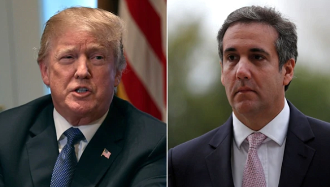 "Donald Trump criticó a su exabogado: ""Es inconcebible que un abogado grabe a un cliente, totalmente inédito y quizás ilegal"""