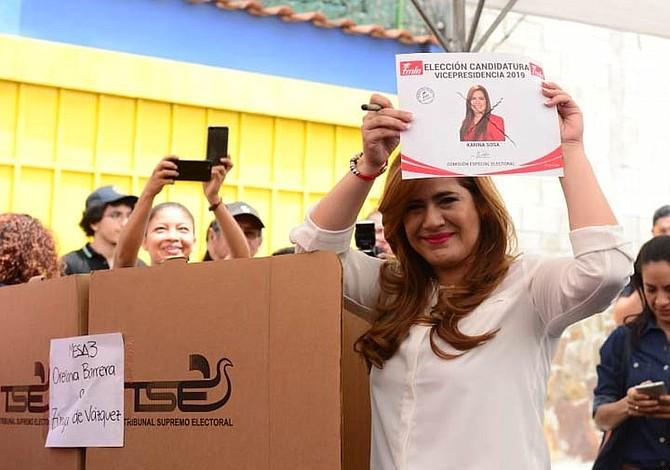 Partido oficialista de El Salvador ya tiene completa su fórmula para presidenciales de 2019