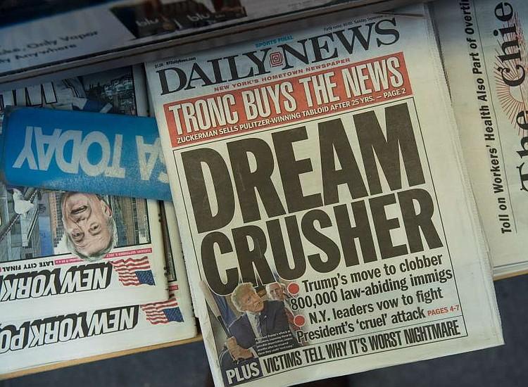 'Daily News' en crisis, reduce a la mitad su nómina