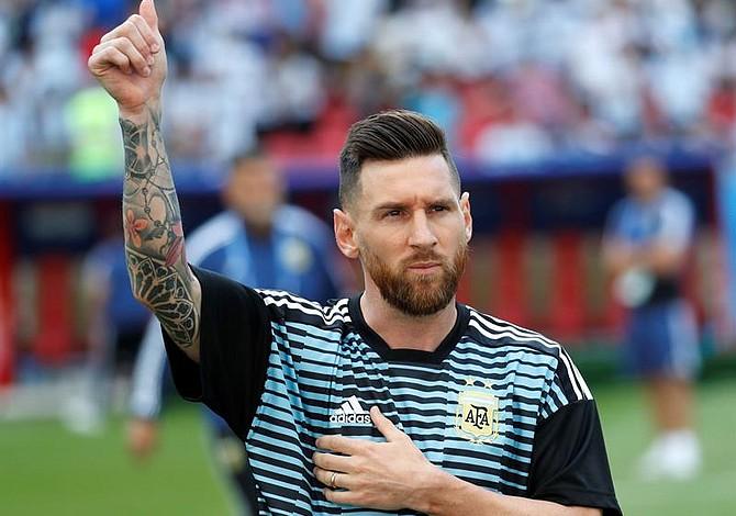 FIFA sancionó al presidente de la Federación Palestina de Fútbol por llamar al odio contra Messi