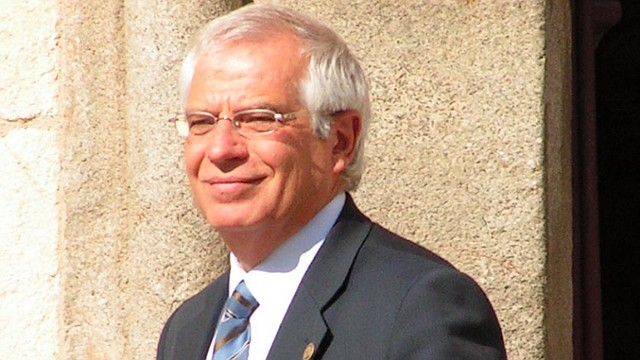 ESPAÑA. Josep Borrell, ministro de Exterior de España
