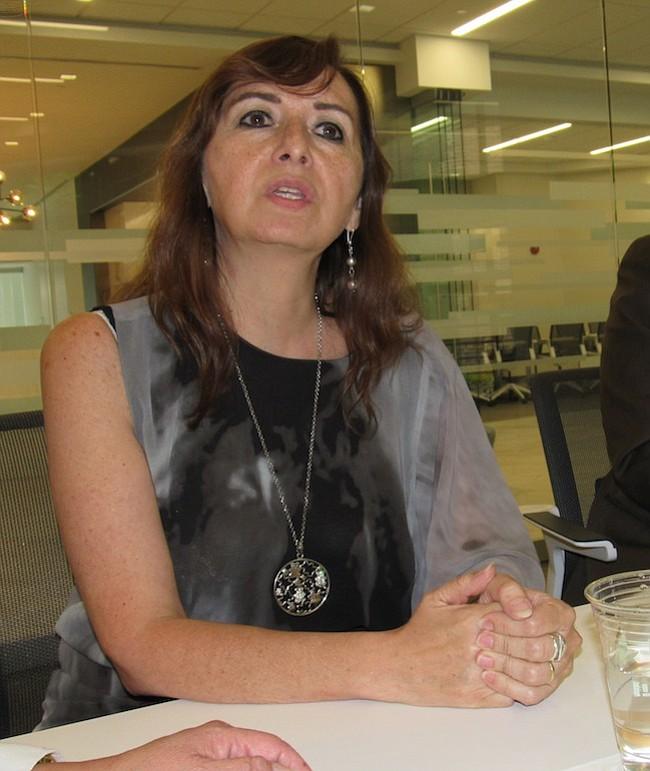 DIPLOMÁTICA. La cónsul general en Washington y embajadora, Gloria Lissette Nalvarte Simoni.