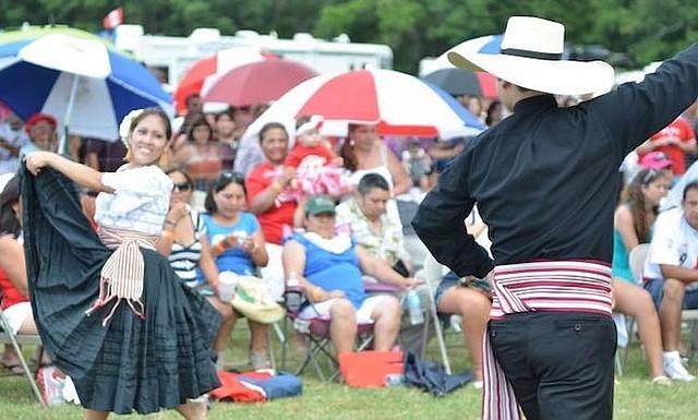 FESTIVAL. El domingo 22 de julio, se llevó a cabo el Festival de Arlington, el más antiguo en Estados Unidos que celebró 31 años.