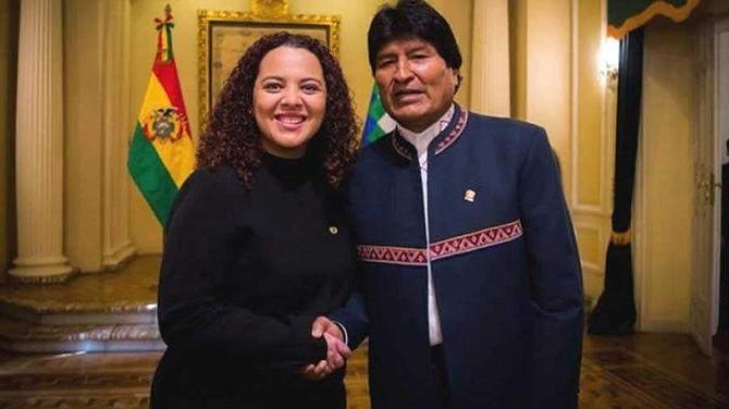 BOLIVIA - La embajadora de El Salvador en Bolivia, Maddelin Brizuela, falleció el 23 de julio en un hospital del país sudamericano.