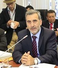 ECUADOR. Édison Lanza, relator especial de la Comisión Interamericana de Derechos Humanos