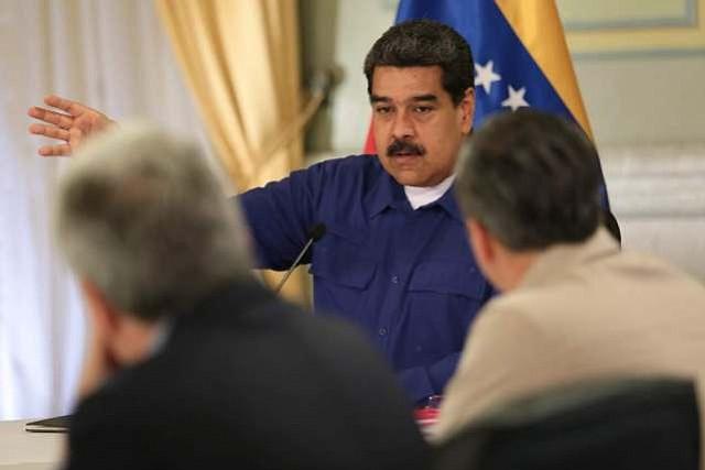 VIDEO | Maduro asegura que los migrantes venezolanos salen del país con los bolsillos llenos de dólares