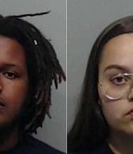SUCESOS. Stevie Dwayne Williams, de 24 años, y Dazrine Ruth Chagoya-Williams, de 20 años, acusados de asesinar a su hijo