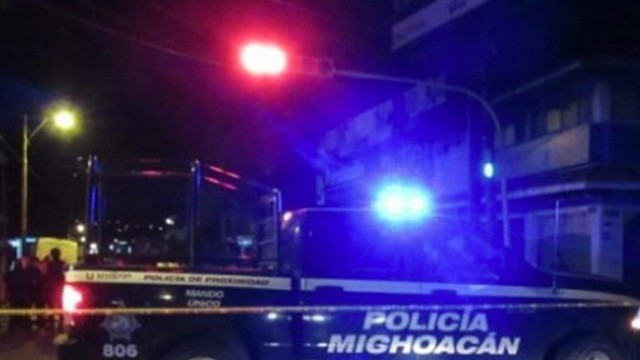 MÉXICO. Los cuerpos de seguridad se presentaron en el lugar