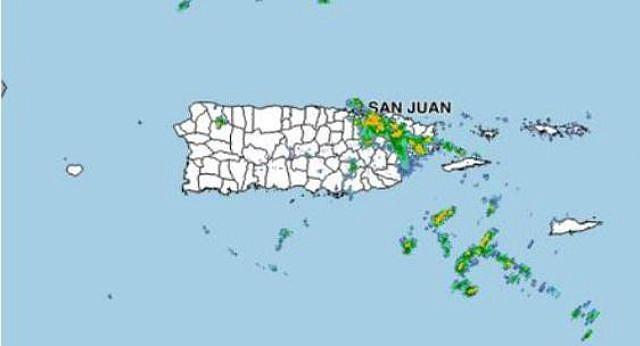 CLIMA. Varios municipios del este de Puerto Rico se encuentran en posible peligro de inundación
