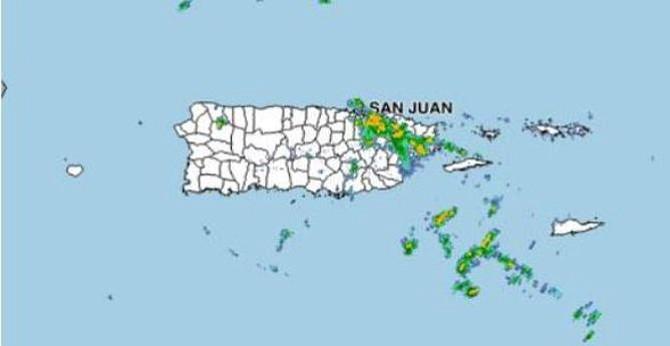 Fuertes lluvias podrían causar inundaciones en varios municipios de Puerto Rico
