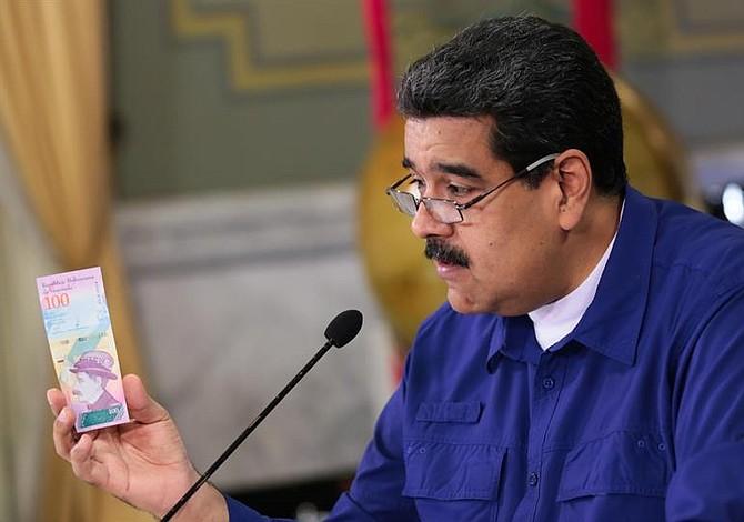 Venezuela reducirá 5 ceros a su moneda