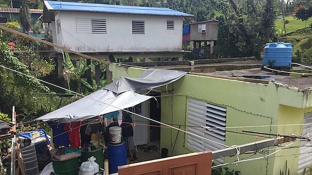 PUERTO RICO. Daños causados por el paso del Huracán María
