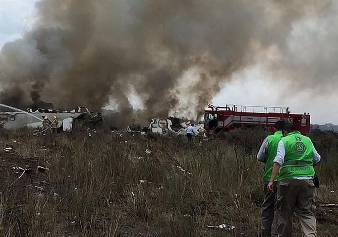 Afirman que una ráfaga de viento derribó el avión en Durango, México