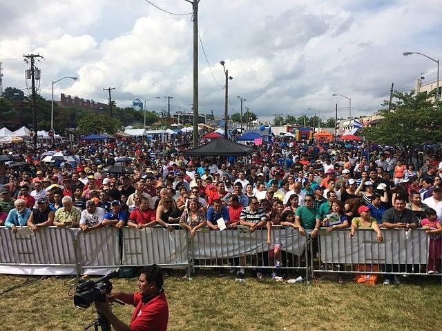 MULTITUD. Miles de personas asisten todos los años al Festival Salvadoreño Americano que en esta ocasión se celebrará el 5 de agosto.