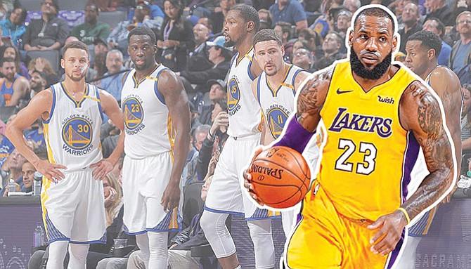 Así se jugará esta temporada en la NBA