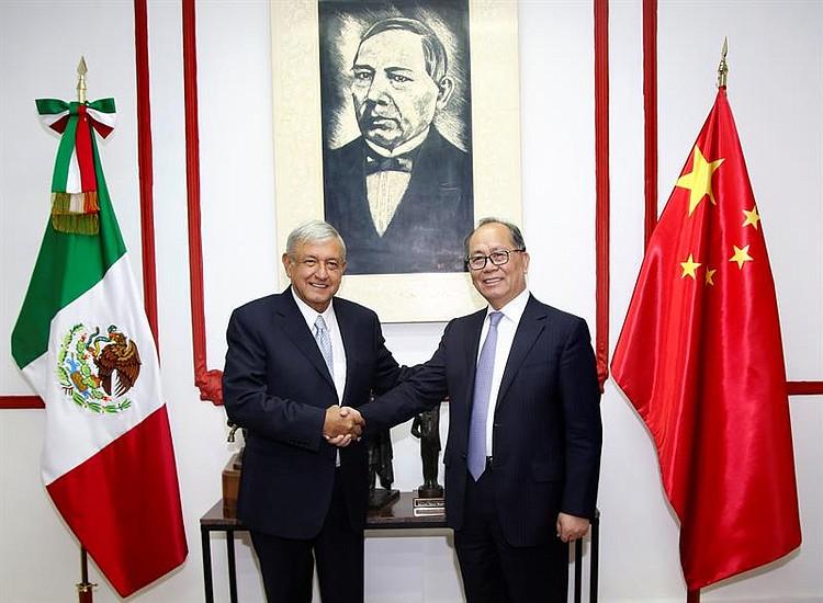 AMLO busca reducir desbalance comercial con China (Videos)