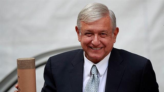 MÉXICO. Presidente electo, Andrés Manuel López Obrador