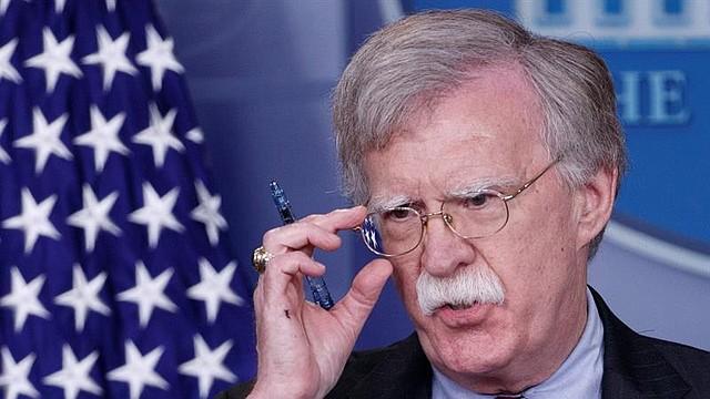 WASHINGTON. John Bolton, consejero de Seguridad Nacional, en una rueda de prensa en la Casa Blanca el jueves 2 de agosto de 2018