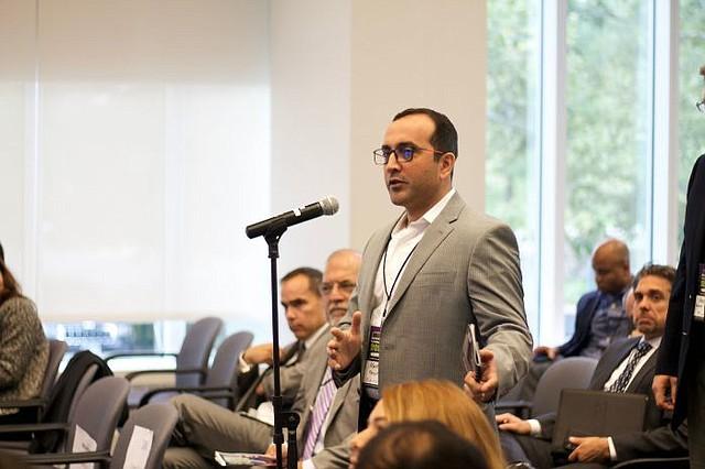 NEGOCIOS. Los asistentes, entre ellos varios pequeños empresarios, mostraron interés sobre cómo se puede adaptar blockchain a sus negocios para hacerlos más efectivos