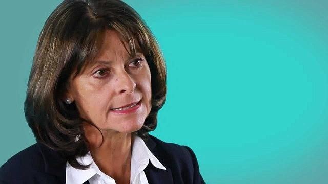 COLOMBIA. Vicepresidenta de Colombia, Marta Lucia Ramírez