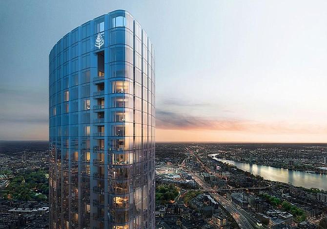 Revelan detalles del tercer edificio más alto de Boston