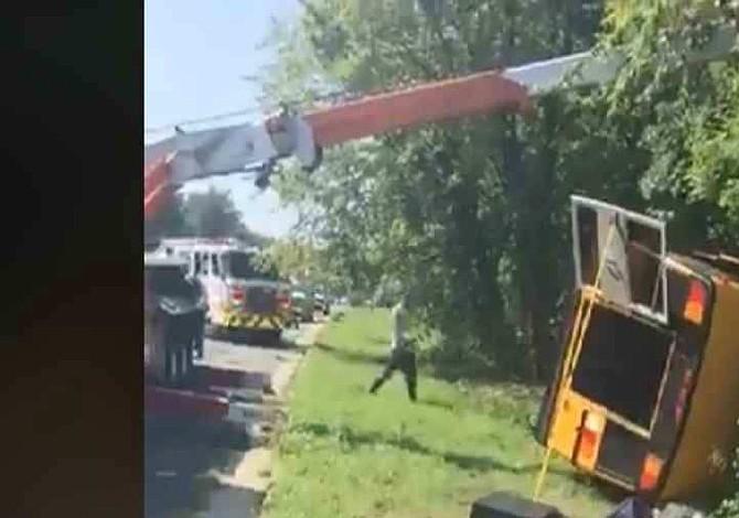 """Grupo musical """"La Máquina"""" sufre accidente en Maryland"""