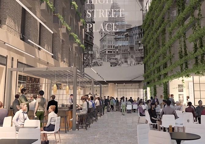 Abrirán un gran patio de comidas en el Financial District de Boston