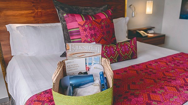 En hoteles solo para mujeres abundan los detalles