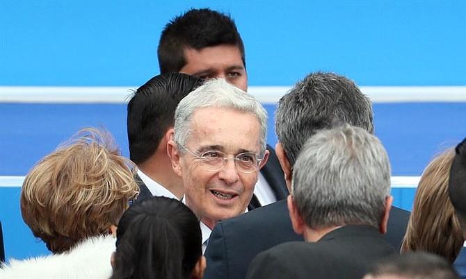 COLOMBIA. Expresidente colombiano Álvaro Uribe Vélez