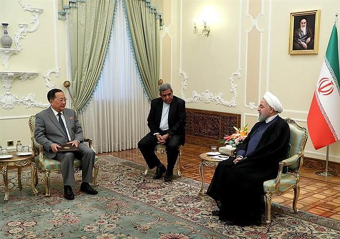 Irán expresó desconfianza en Estados Unidos a ministro de Corea del Norte
