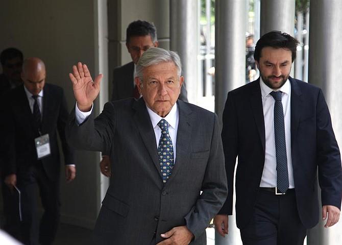 MÉXICO. Andrés Manuel López Obrador retomará los diálogos  con la Coparmex para elevar el salario mínimo a finales de año