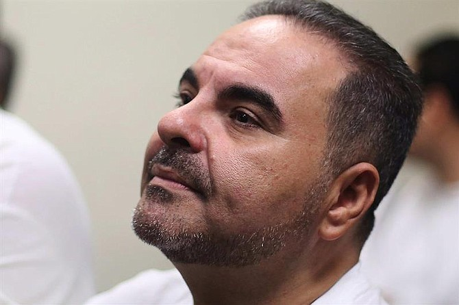 JUSTICIA. Expresidente de El Salvador, Elías Antonio Saca