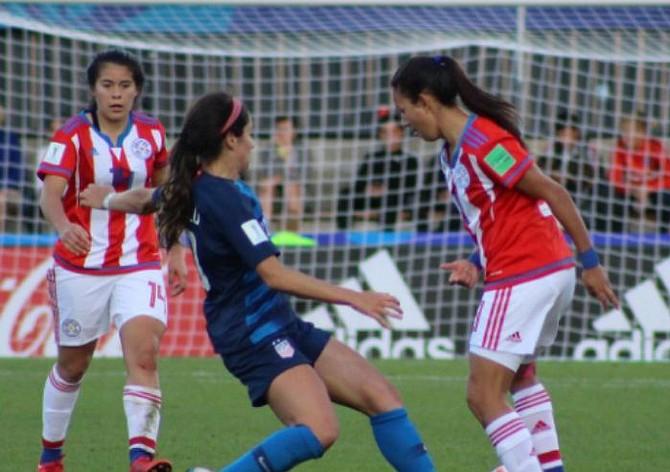FÚTBOL.Estados Unidos derrotó al equipo de Paraguay 6-0