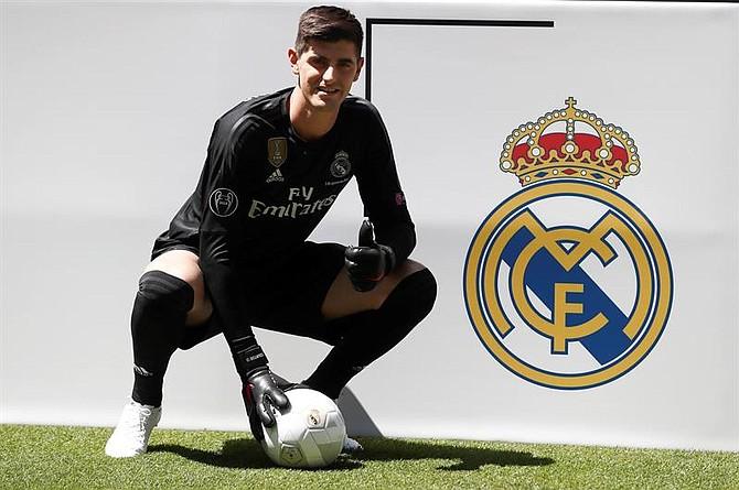 El portero belga, Thibaut Courtois, estará seis temporadas en el Real Madrid.