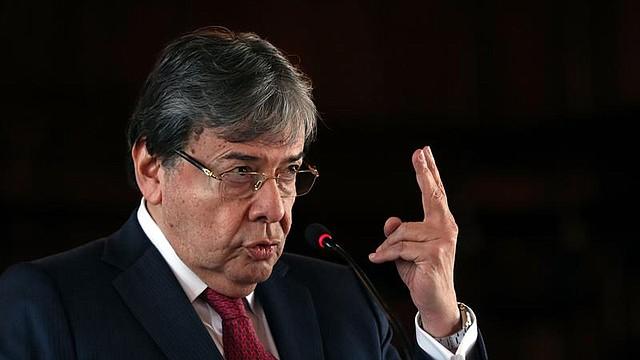 DESTINO. Canciller de Colombia, Carlos Holmes Trujillo