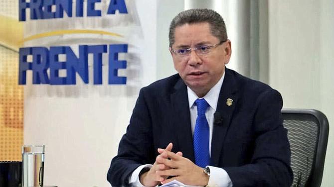 ELSALVADOR. El fiscal salvadoreño Douglas Meléndez
